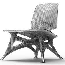 Unusual Ottomans by Joris Laarman U0027s Furniture Of The Future Unusual Furniture Chair