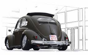 black volkswagen bus vw bus beetle kombi fusca variant wallpaper 1680x1050 574882