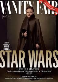 Magazine Vanity Fair Carrie Fisher U0027s Star Wars U0027last Jedi U0027 Vanity Fair Cover Is Perfect
