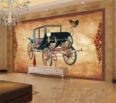 transport canapé 3d photo papier peint personnalisé salon murale royale européenne