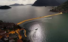Floating Piers by The Floating Piers In Pictures Taschen Books