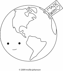 earth love coloring free printable coloring pages