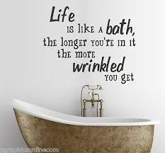 Cute Sayings For Home Decor Best 25 Bathroom Wall Sayings Ideas On Pinterest Bathroom Wall