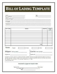 Bill Of Lading Template Excel Bill Of Lading Pdf Vitran Express 13 Bill Of Lading Templates