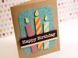 happy birthday paper pieced candles make a card monday 120