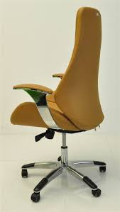 yellow leather modern recaro office chair ys1107a office work