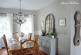 Dear Lillie My Parents Dining Room Benjamin Moore Revere Pewter - Revere pewter dining room