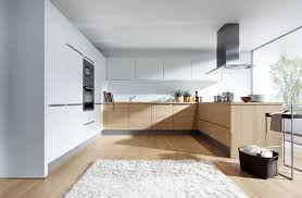 light oak kitchen cabinets modern light oak and matt white modern kitchen by