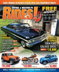 rides magazine august 3 2017 by stott media issuu