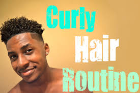 haircut for curly hair male men u0027s curly hair routine naturally curly youtube