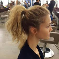 everyday hairstyles for medium length hair medium ponytail hairstyles everyday fancy loop ponytail hairstyle