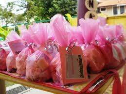 Personalized Cotton Candy Bags Wedding And Party Favors Digital Memory Creations