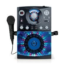 karaoke machine with disco lights singing machine sml385 karaoke system with led disco lights and