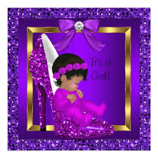 purple baby shower ideas purple and gold baby shower invitations marialonghi