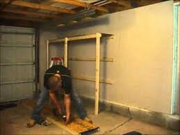 Build Wood Garage Storage how to build garage shelves cheaply normalguydiy youtube
