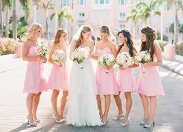 Light Pink Wedding Shoes Pink Bridesmaid Dresses Ideal Weddings