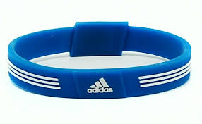 magnetic silicone bracelet images Adidas sport negative ion wristband by ionloop jpg