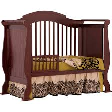 when to convert crib into toddler bed storkcraft valentia 4 in 1 convertible crib espresso walmart com