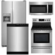 stainless kitchen appliance packages 13 frigidaire appliance package 4 piece appliance package with