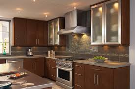 Kitchen Ideas With Cherry Cabinets by Shenandoah Cabinetry Cherry Spice Sydney Door Cherry Cabinets