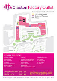 store map clacton factory outlet