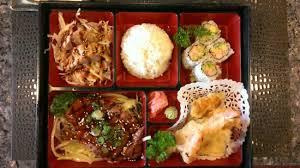 shogun japanese cuisine bento dinner picture of izakaya shogun japanese sushi grill
