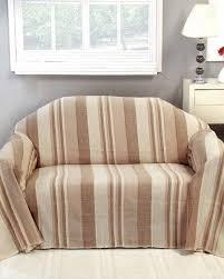 canape tissu rayures jeté de lit ou de canapé morocco rayures beige homescapes