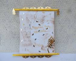 cards crafts projects scroll shaped invitation cards tutorial