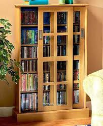 cd storage cabinet with doors wooden blu ray dvd cd storage cabinet rack shelf glass door dvd