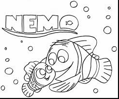 awesome disney finding nemo coloring pages printables with pdf on