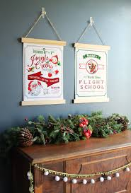 christmas posters the craft patch free printable vintage style christmas posters