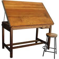 Vintage Drafting Tables Vintage Industrial Hamilton Drafting Table Kitchen Island Bread