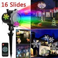 snowflake projector outdoor lights ebay