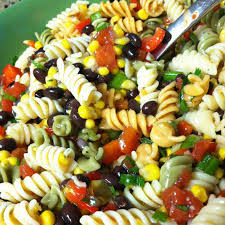 Mexican Pasta Salad Black Bean U0026 Corn Pasta Salad Recipe By Gayle F Key Ingredient
