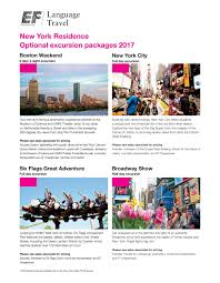 Nyc To Six Flags New York Res Optional Flyer By Ef Education First Issuu