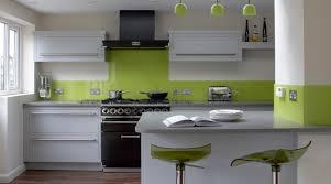 cuisine blanche et verte cuisine verte pour un intérieur naturel et doux cuisine
