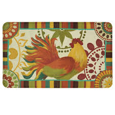 Rooster Rugs For The Kitchen Mohawk Home Painted Spice Rooster 18 In X 30 In Kitchen Mat