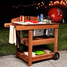 outdoor grill prep table grill cart plans how to make a grill cart with outdoor grill prep