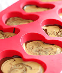 chocolate heart candy chocolate cashew butter candy cups paleo vegan