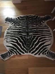 Zebra Area Rugs Decoration White Rug Shag Rug Plush Rugs Area Rugs For Sale