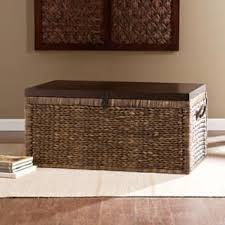 storage trunk coffee table trunk coffee console sofa end tables for less overstock com