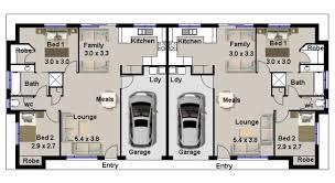 2 bedroom duplex house plans home design