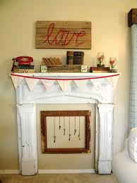 Decorate Mantel For Valentines Day by Valentine Day Mantel Decoration In Stylish Red Color Designs