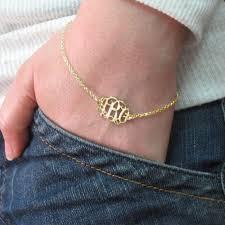 monogram bracelets mix and match monogram necklace and bracelet set mynamenecklace