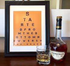 Personalized Home Decor Gifts Customized Eye Chart Maker Great For Personalized Gifts And Home