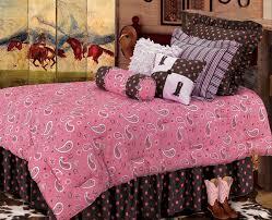 Paisley Comforters Pink Paisley Luxurious Western Comforter Bedding Set