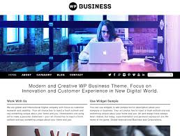 25 free themes for creative agency business or a portfolio