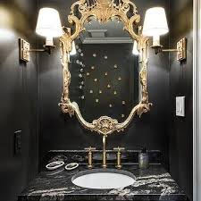 gold bathroom ideas black and gold bathroom vanity design ideas