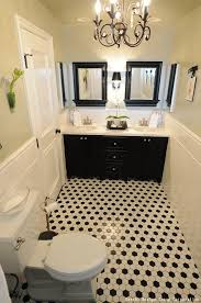 how to decorate your bathroom using black u0026 white