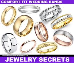 the secrets wedding band the 5 most comfortable wedding bands jewelry secrets